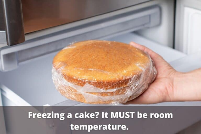 How To Freeze and Thaw Cake [without Crystals or Freezer Burn]